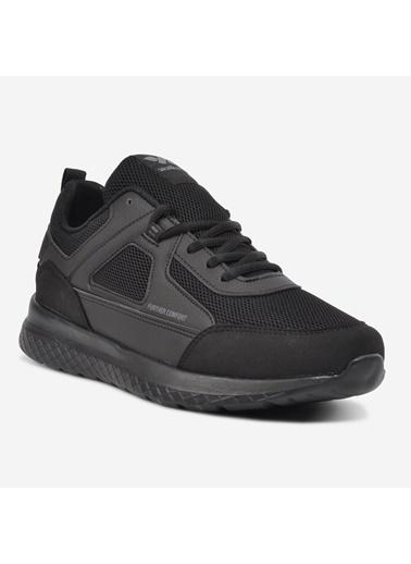 Walkway Nevel Lacivert-Buz Erkek Spor Ayakkabı Siyah